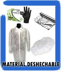 Material deshechable